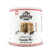 Augason Farms Blueberry Pancake Mix 3 lbs 7 oz No. 10 Can