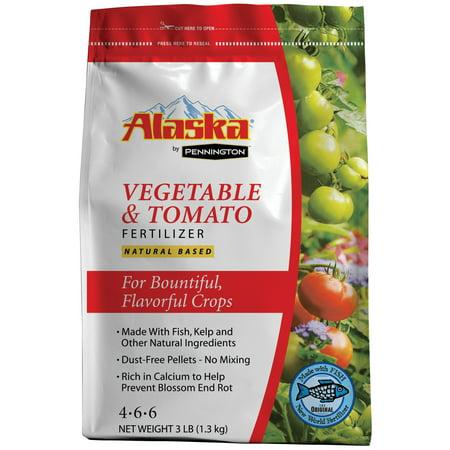 Image of Alaska by Pennington Vegetable and Tomato Fertilizer, 3 lbs