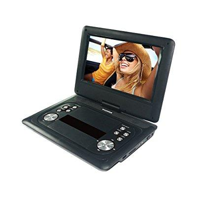 Sylvania SDVD1251-B 12in Portable Dvd Player, Black