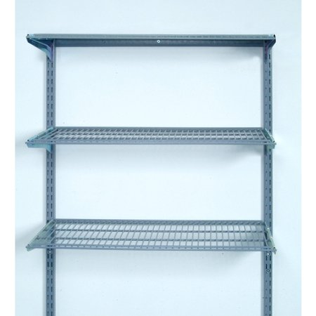 Storability 33L x 315H Wall Mount Shelving Unit with 3
