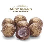 Andy Anand Dark Chocolate Sparkling Prosecco Cordials Gift Boxed & Greeting Card Mothers Fathers day Birthday Valentine Christmas Free Air Shipping (1 lbs)