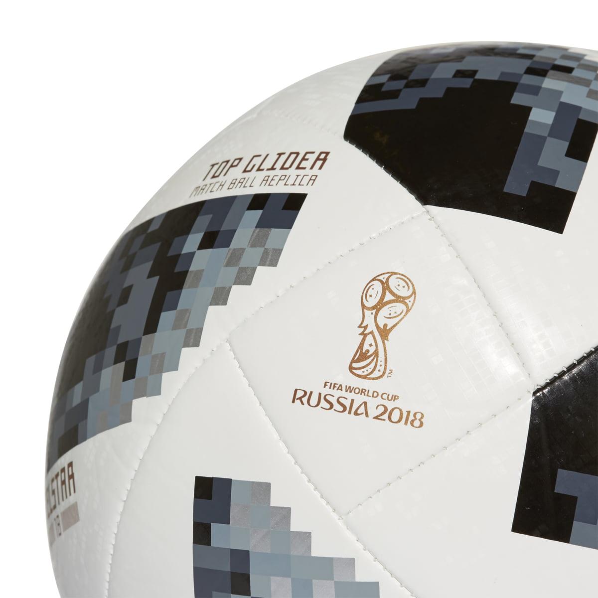 04f77e136 adidas Top Glider Soccer Ball, Size 5, Black - Walmart.com