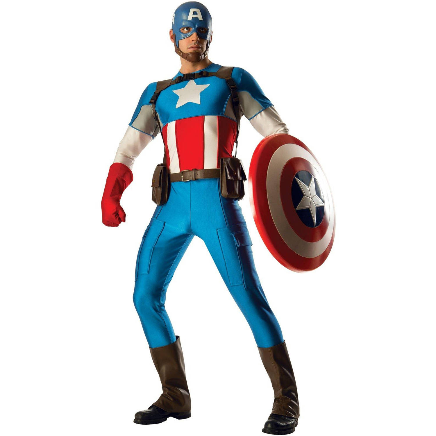 Captain America Grand Heritage Men's Adult Halloween Costume, 1 Size
