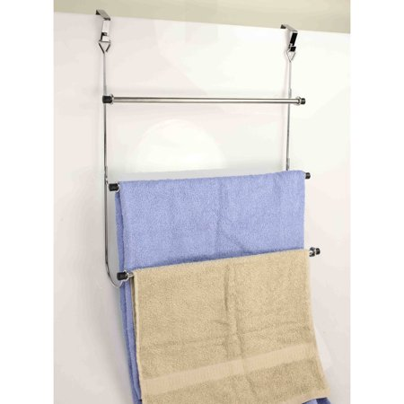 Home Basics Over-the-Door Chrome Rack (93 Manual Rack)