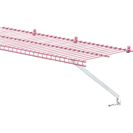 - ClosetMaid 12 In. White Wire Shelving Support Bracket 2-Pack