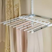 Rubbermaid Configurations Closet Sliding Pants Rack