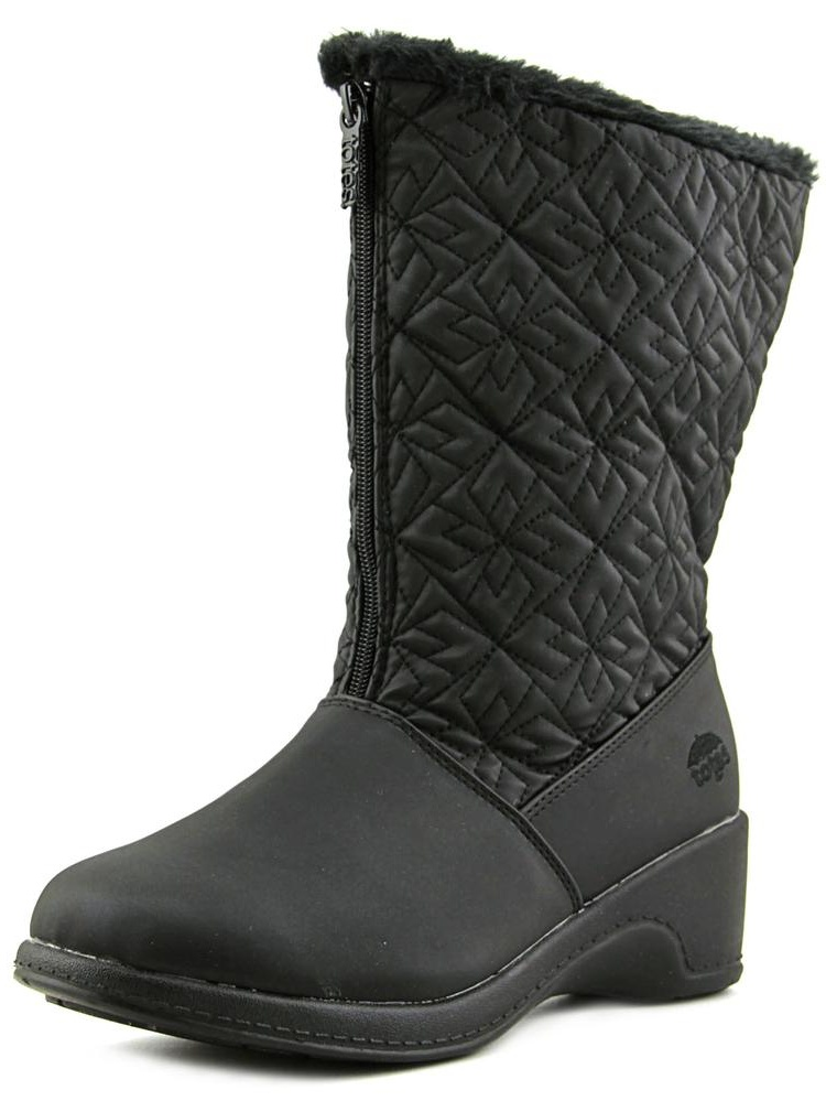 Totes Nancy Round Toe Synthetic Snow Boot by Totes