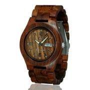 Wooden watch-Wood watch-Handmade watch - Wood craft - Wood art -wedding gift-Anniversary gift - Men's- Women's watch - Unisex watch- Personal Message Laser Engraving - Alpha I Series 2
