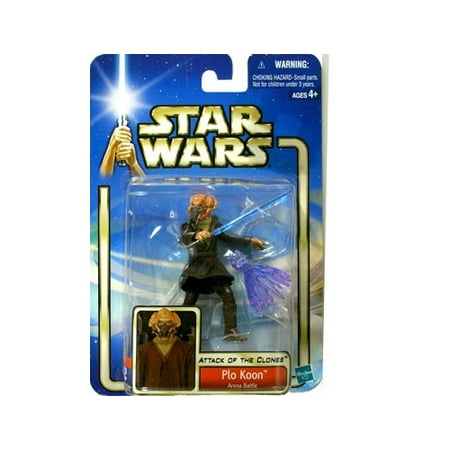 Star Wars: Episode 2 Plo Koon Action Figure - Clone Wars Plo Koon