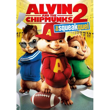 Alvin and the Chipmunks: The Squeakquel (DVD) (Alvin And The Chipmunks The Squeakquel 2009)