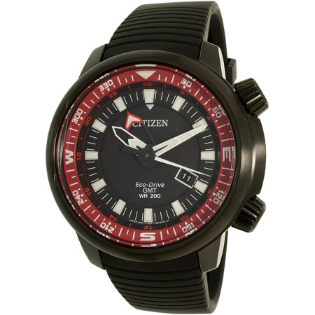 831da159679 Citizen Men s Eco-Drive BJ7085-09E Black Silicone Dress Watch - image 3 of  zoomed image