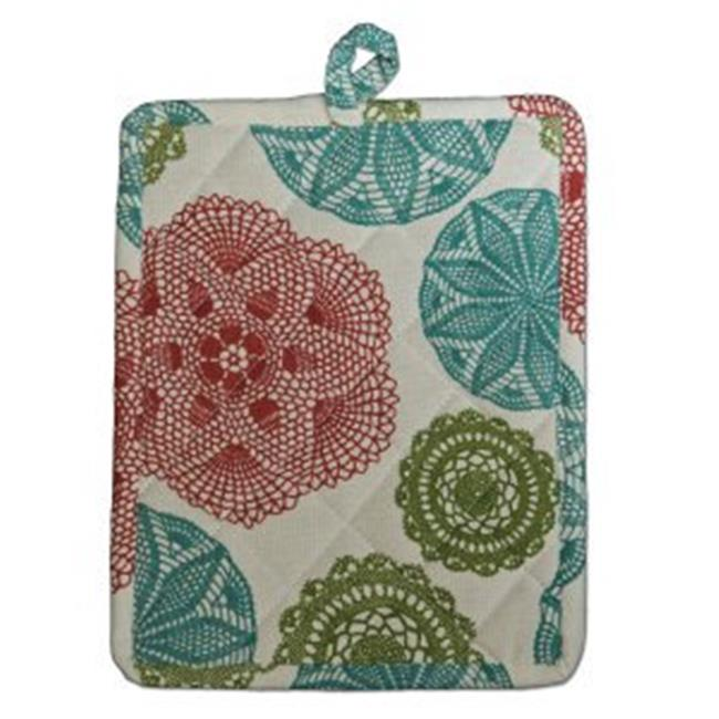 Heritage Lace CE-PH Crochet Envy Pot Holder, Ecru