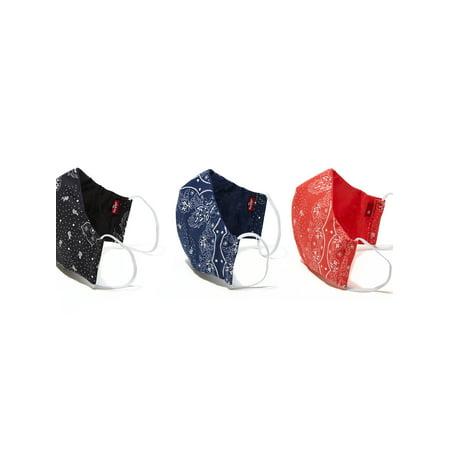 Levi's Reusable Print Face Mask (3 Pack)