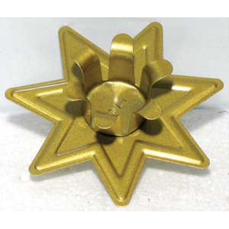 - Seven Pointed Fairy Star Candle Holder Fits 6