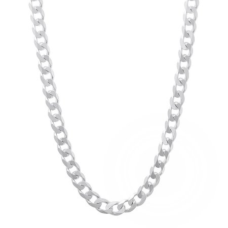 Authentic Solid Sterling Silver 5MM Cuban Curb Link .925 ITProLux Necklace Chains 16