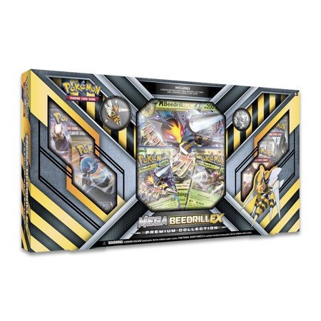 Giants Booster Pack - Pokemon MEGA BEEDRIL EX Foil Box Set Collection with 4 10-card Booster Packs!