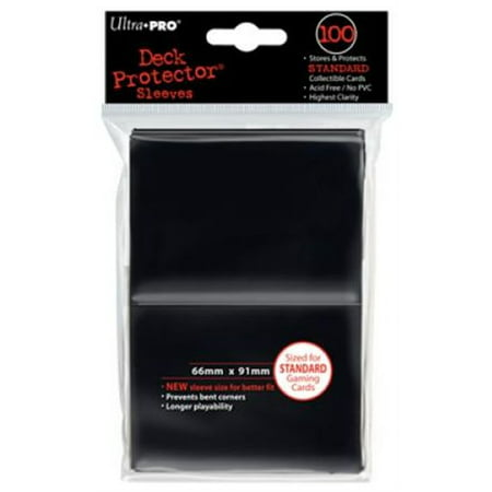 DP: Solid BK (100) High Quality Standard Size Protector Ultra Pro (Ultra Pro Card Sleeves)