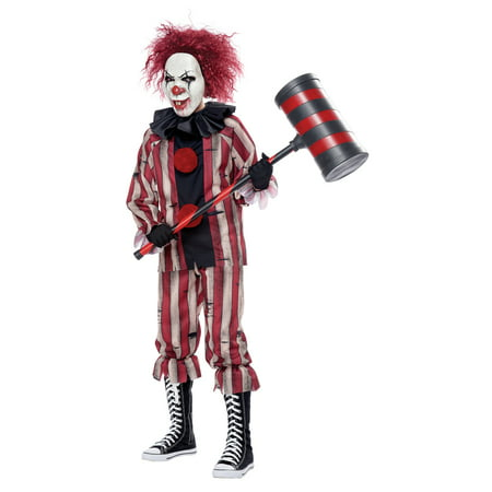 Child Nightmare Clown Scary Halloween Costume