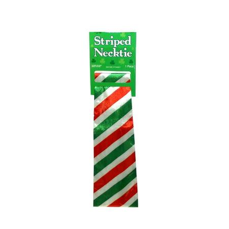 Amscan St. Patrick's Day Irish Flag Striped Novelty Necktie, One Size](Irish Novelties)