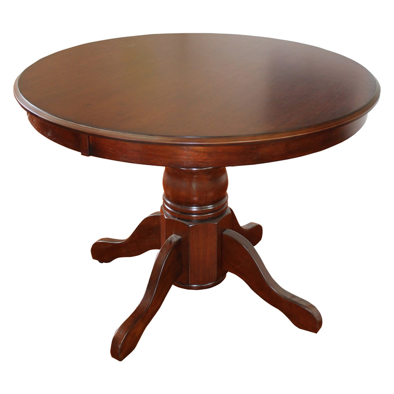 Classic Cherry Finished Pedestal Dining Table by Home Styles