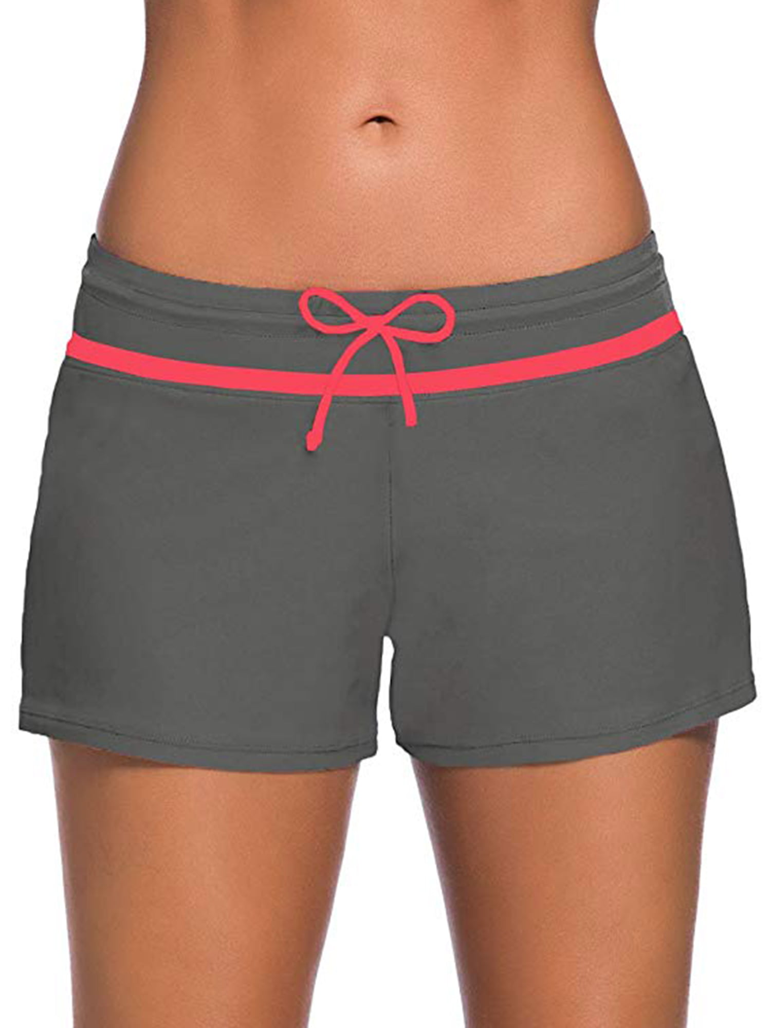 American Trends Womens Swim Shorts for Women Sport Board Shorts Womens Swimwear Tankini Swimsuits Bottoms