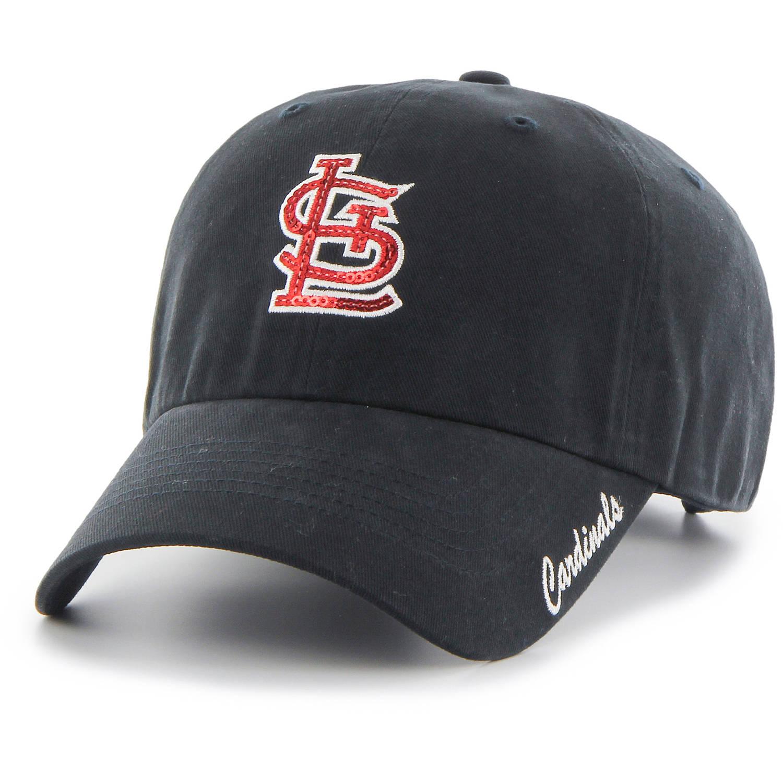 MLB St. Louis Cardinals Sparkle Women's Adjustable Cap/Hat by Fan Favorite