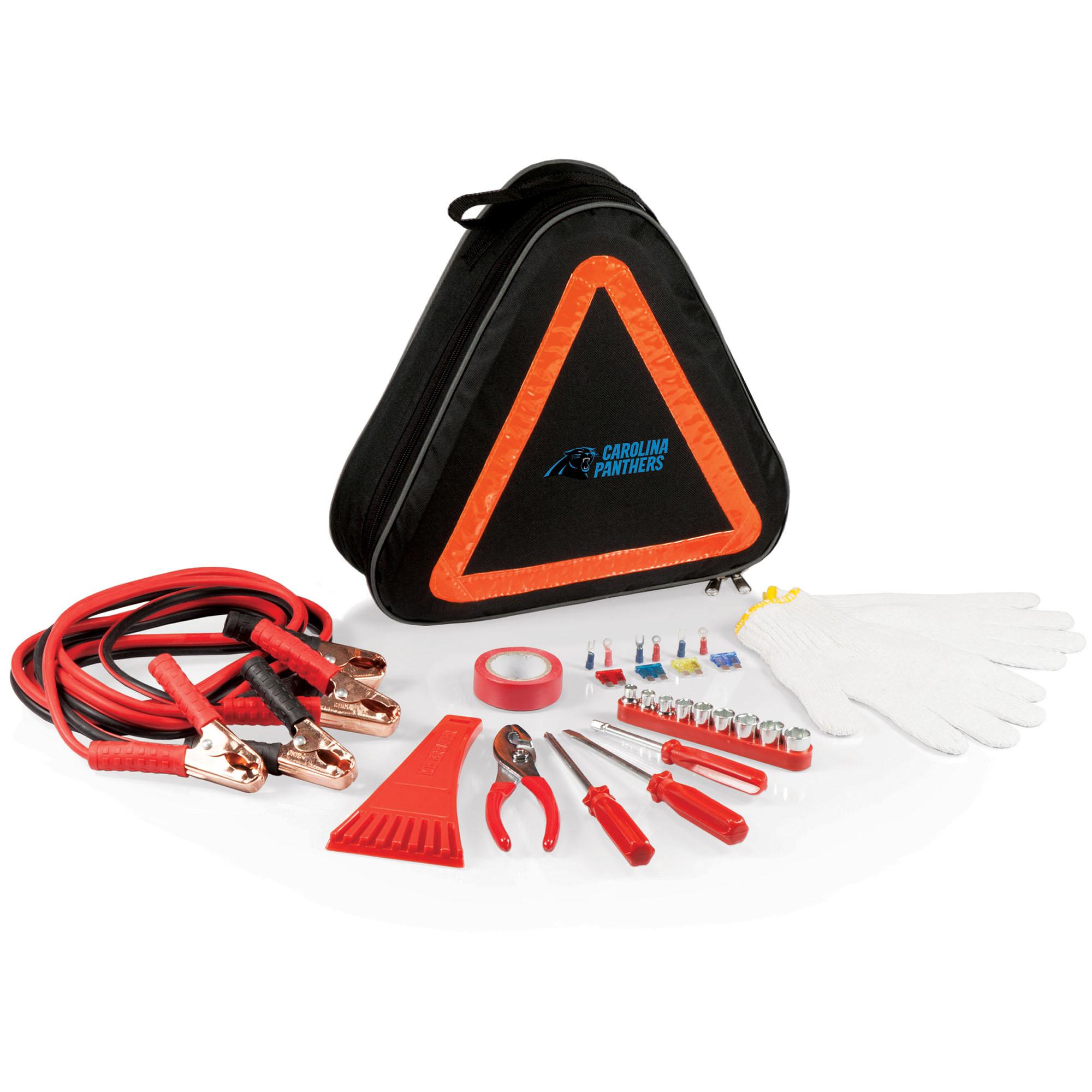 Carolina Panthers Roadside Emergency Kit - No Size