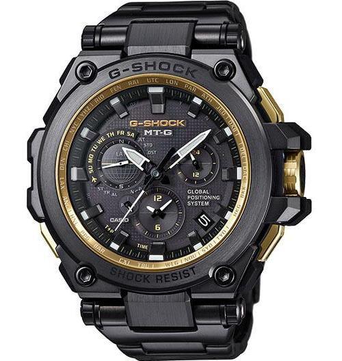 Casio G-Shock MT-G GPS Atomic Solar Mens Watch MTGG1000GB...