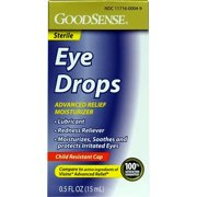 Good Sense Advanced Relief Moisturizer Eye Drops, 0.5 oz - Case of 24