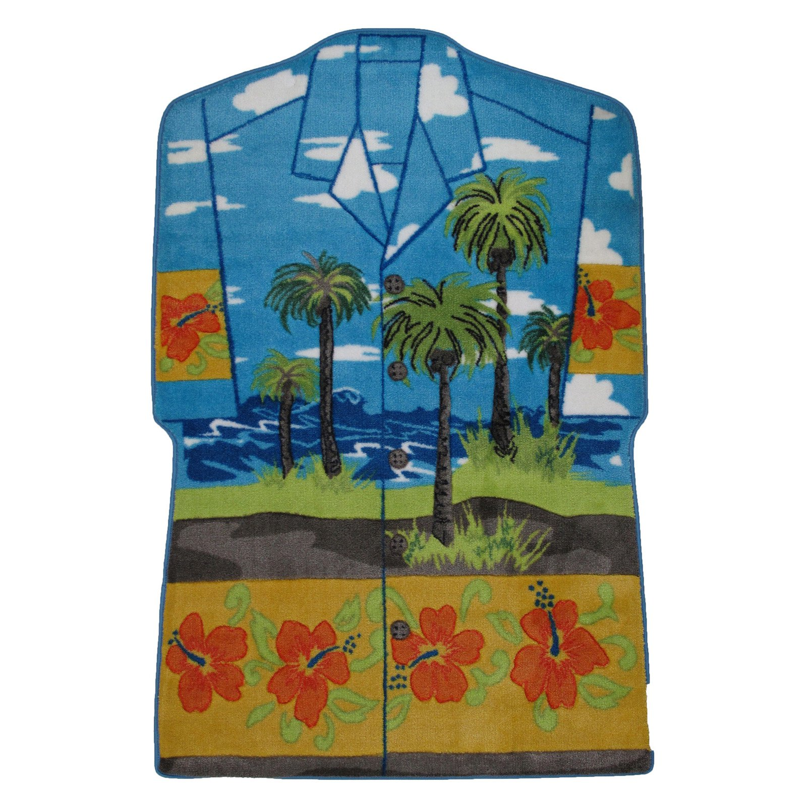 Fun Rugs Hawaiian Shirt Kids Rugs
