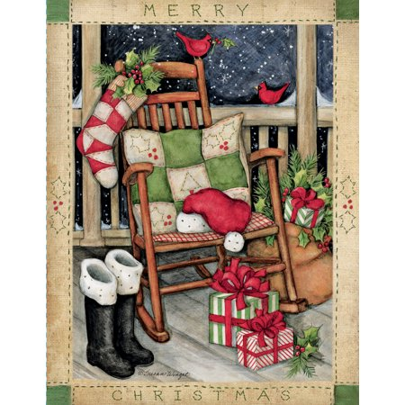 LANG SANTA\'S ROCKER BOXED CHRISTMAS CARDS Choir Christmas Card