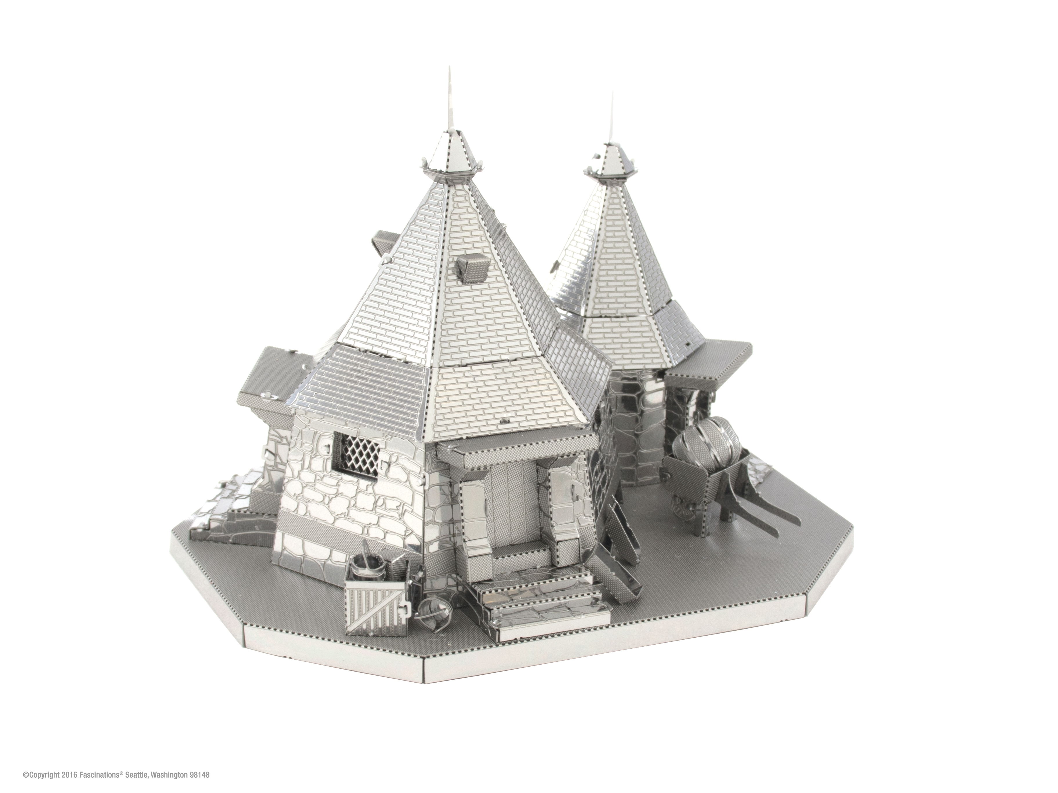 Fascinations Metal Earth 3D Metal Model Kit Harry Potter Rubeus Hagrid Hut by Fascinations