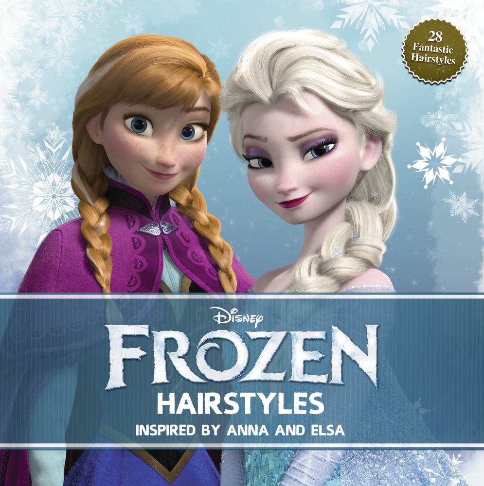 DISNEY FROZEN HAIRSTYLES INSPIRED BY ANNA AND ELSA