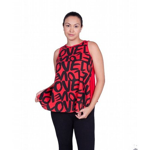 Red Love Letter Top