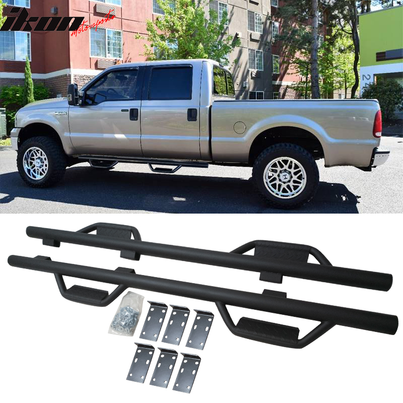 Product Image Fits   Ford F  F F Sd Crew Side Step Bar Running