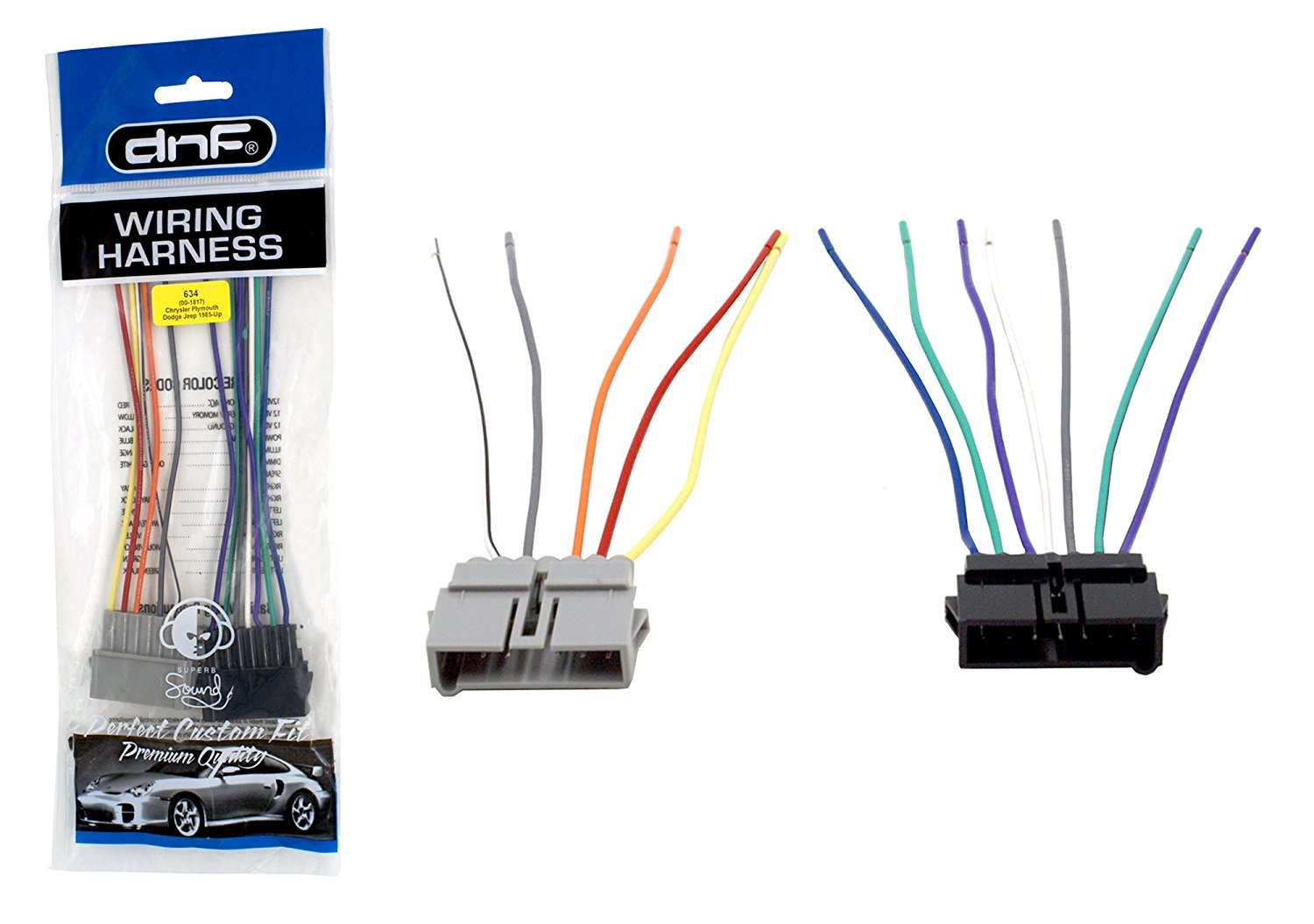 Dnf wiring harness for aftermarket radios stereos