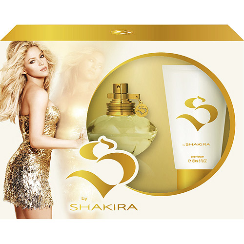 S by Shakira for Women SET: EDT Spray 1.0 oz.+ Body Lotion 2.5 oz.