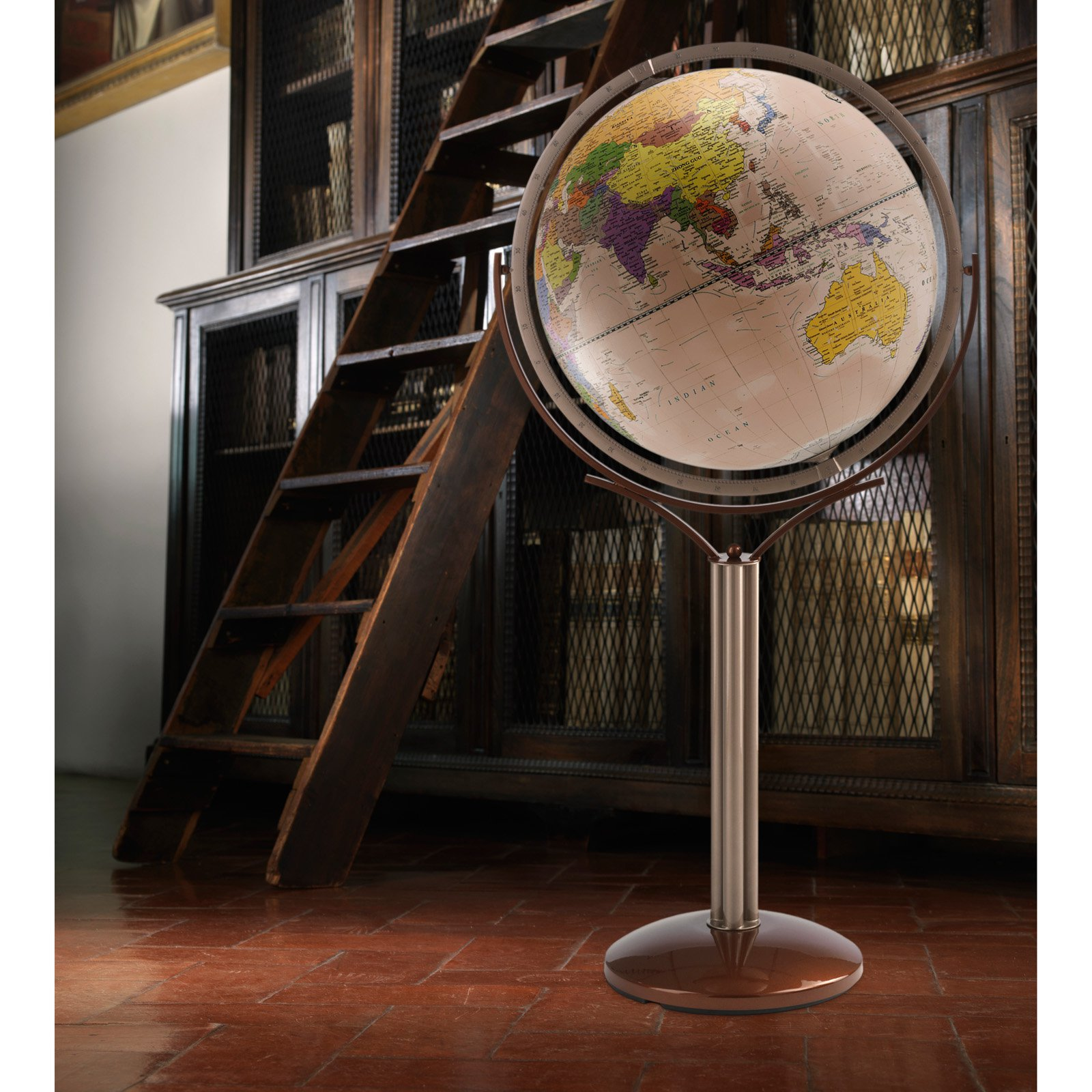 Zoffoli Magellano 24-in. Antique Ocean Floor Globe by