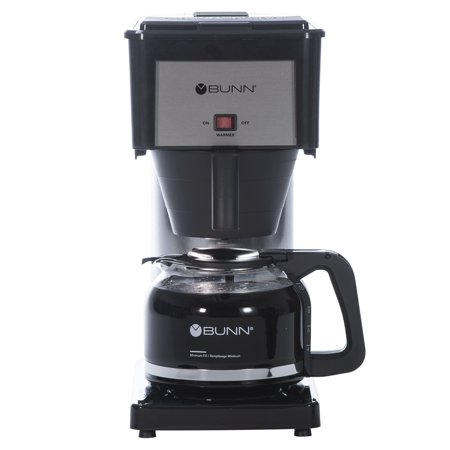 Bunn Velocity 10 Cup Black & Stainless Steel Coffee Brewer Mamma Ro Coffee