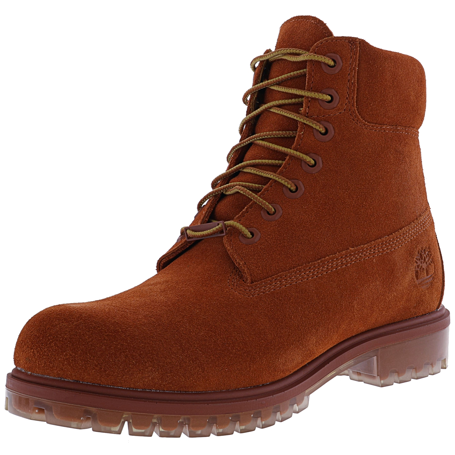 Timberland Men's 6 Inch Premium Suede Boot Canteen Waterb...