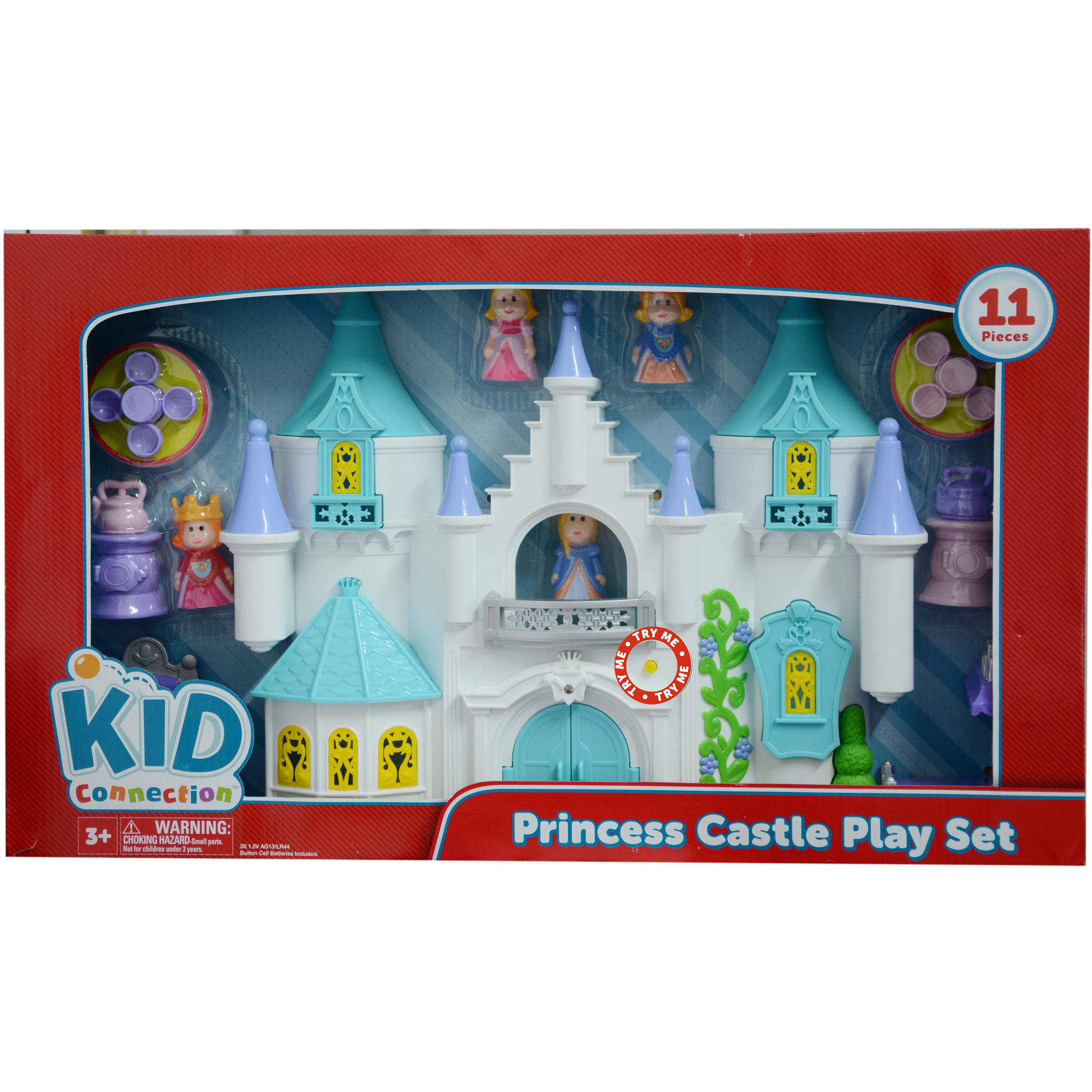 Kid Connection Ice Princess Castle Play Set