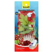Tetra Blooming Collections Coordinated Decor Aquarium Plants, 4 Count