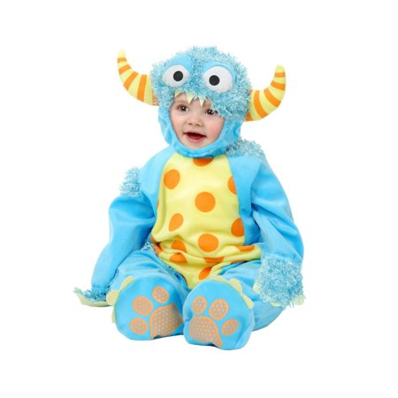 Salem On Halloween 2017 (Halloween Mini Monster Infant/Toddler Blue)
