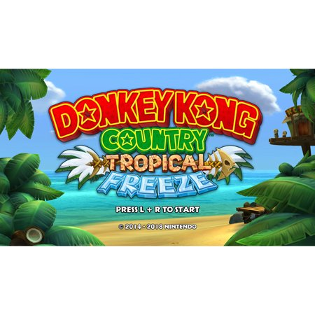 Donkey Kong Country: Tropical Freeze, Nintendo Switch, [Digital (Donkey Kong Country 2 Rom Snes Espanol)