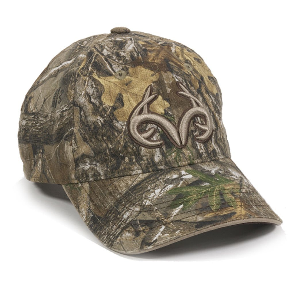 Realtree Edge Buck Horn Camo Hunting Hat