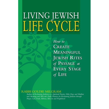 Living Jewish Life Cycle : How to Create Meaningful Jewish Rites of Passage at Every Stage of Life Spiritual tools for you to create and wholeheartedly enter into Jewish life cycle ceremonies and celebrations. Includes practices from the full spectrum of Jewish life to guide you in making Jewish rites come alive with meaning, beauty and lasting impact.