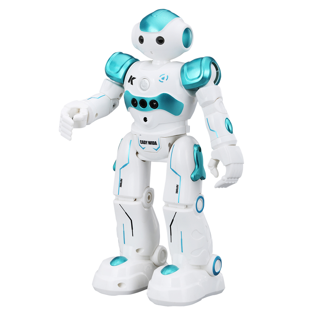 Remote Control Robots Walking Control RC Robot Infrared Control Toys with LED Light... by