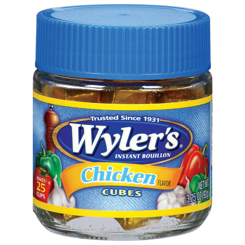 Wyler's Chicken Bouillon Cubes, 3.25 oz