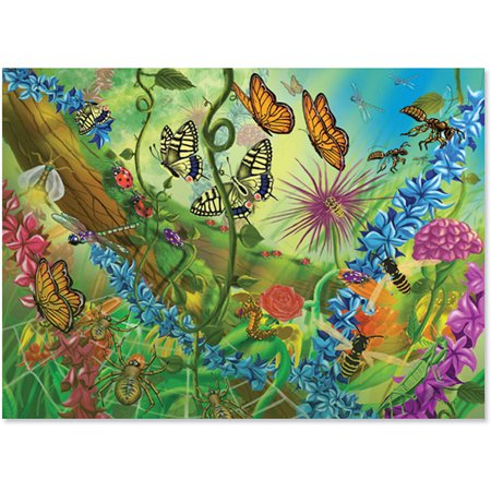 Melissa & Doug World of Bugs Jigsaw Puzzle (60 pcs)