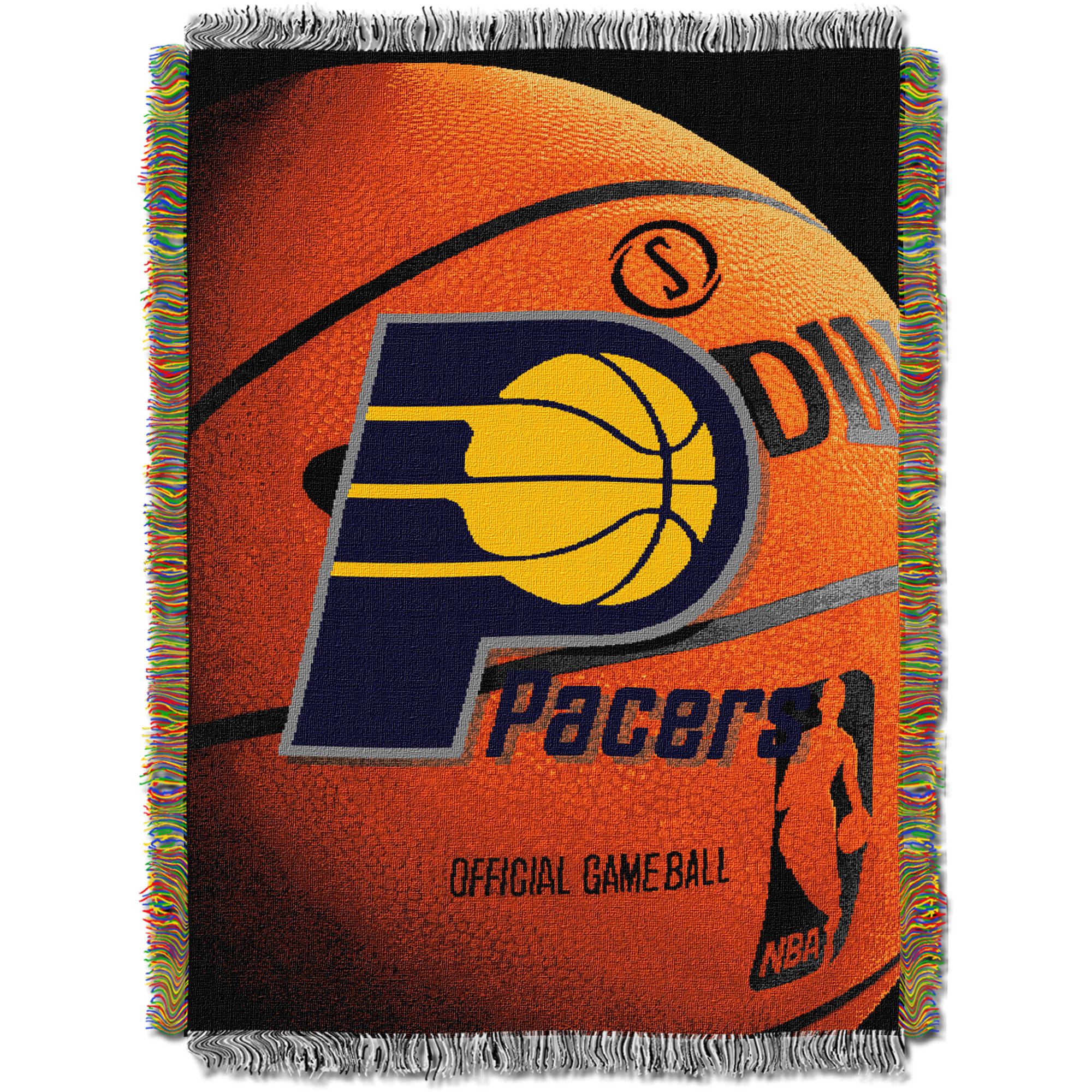 "NBA 48"" x 60"" Photo Real Series Tapestry Throw, Pacers"